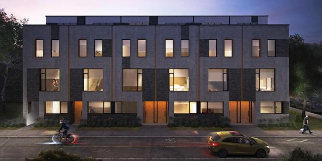 Harbord Towns, by superkul for Oben Flats