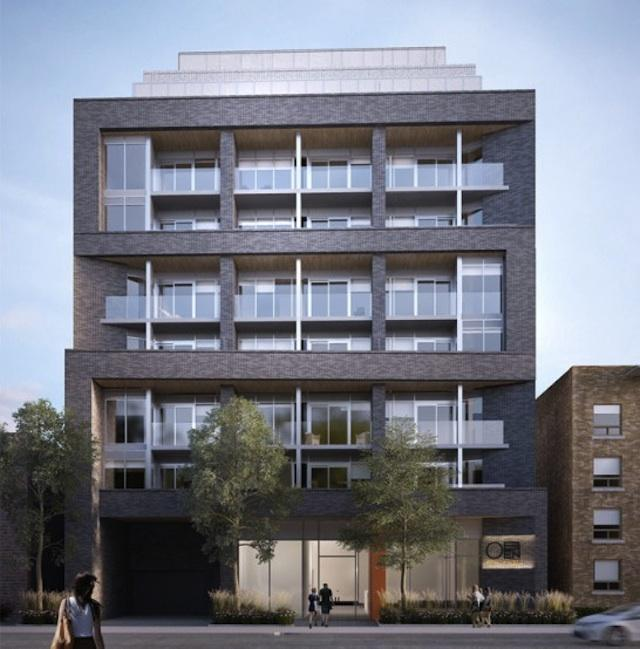 Oben Flats St. Clair West on Vaughan Road, design by Superkül Architect