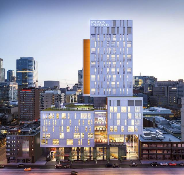 Ryerson Church Street Development, by Perkins + Will