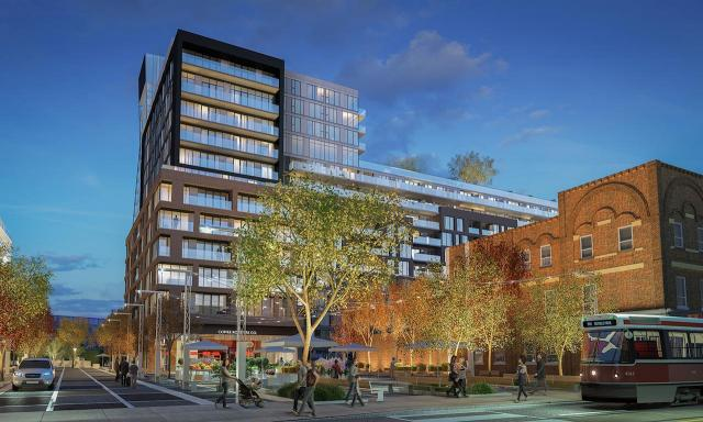 Riverside Square by RAW Design and Giannone Petricone Associates for Streetcar Developments