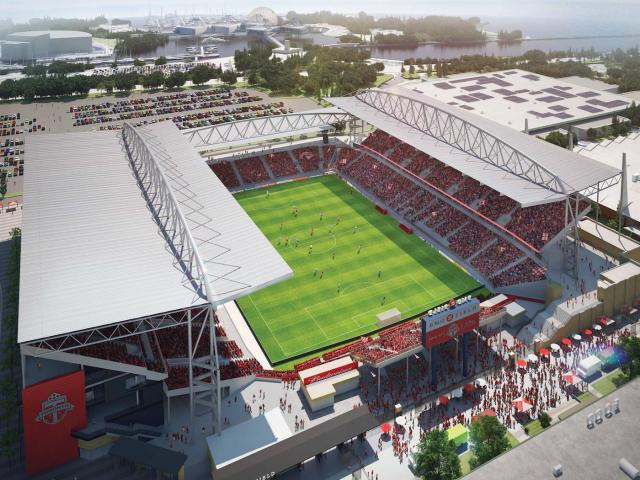 BMO Field by Gensler for Maple Leaf Sports + Entertainment