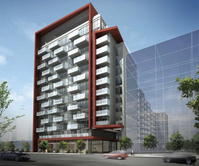 Rêve Condos, across Front Street, image courtesy of Tridel
