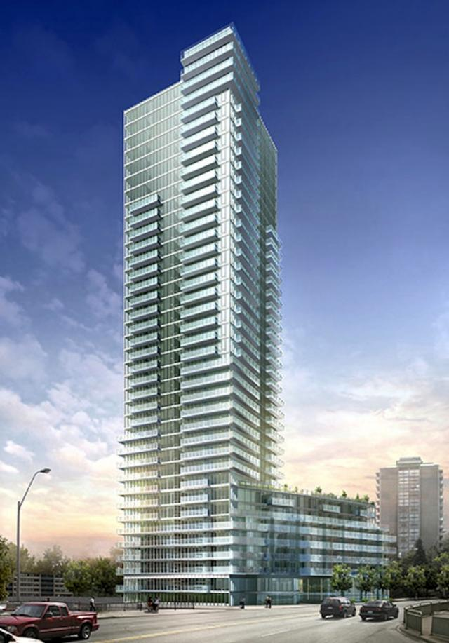The Milan Condominium from the southwest, image courtesy of The Conservatory Group