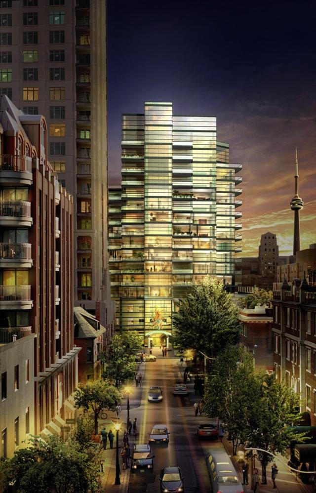 77 Charles West Condos by Aspen Ridge Homes and Yann Weymouth of HOK