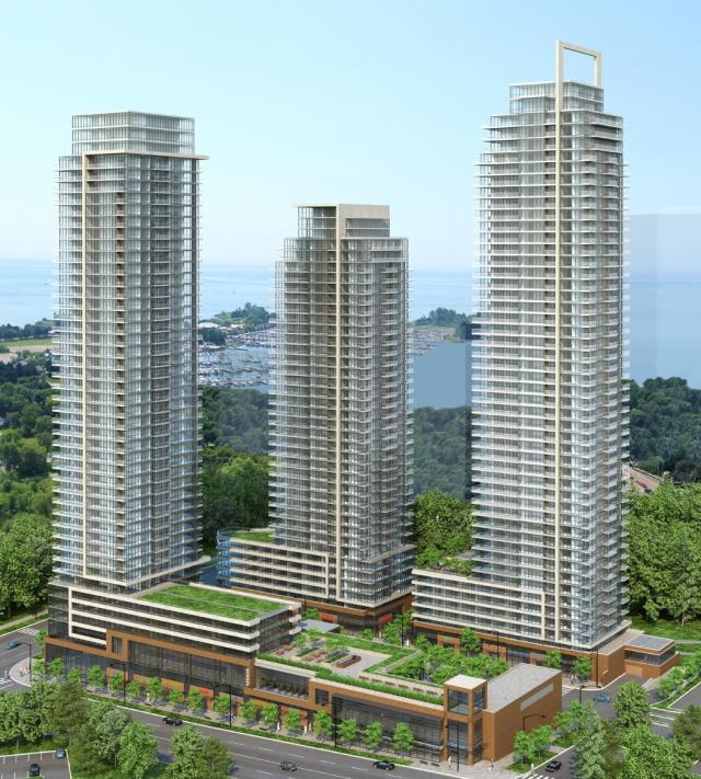 Westlake condos and town houses by Onni Group