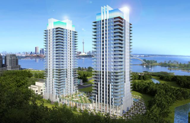 South Beach Condos Toronto by Amexon Development Corporation
