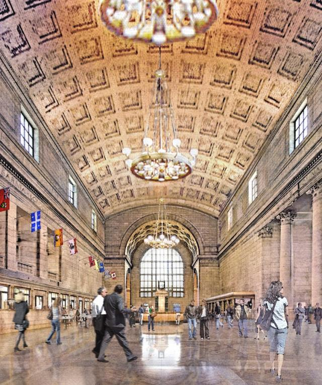 Union Station Revitalization, Great Hall, image courtesy of NORR Architects