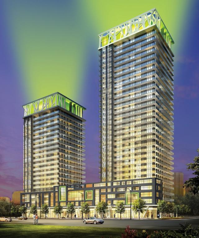 Limelight Condominiums, image courtesy of The Daniels Corporation