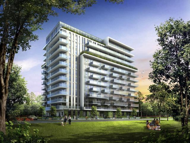 OnePark West boutique condominium, image courtesy of The Daniels Corporation