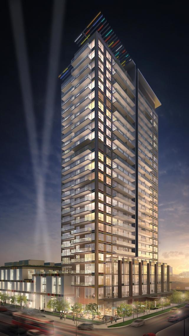 Paintbox Condominiums, image courtesy of The Daniels Corporation