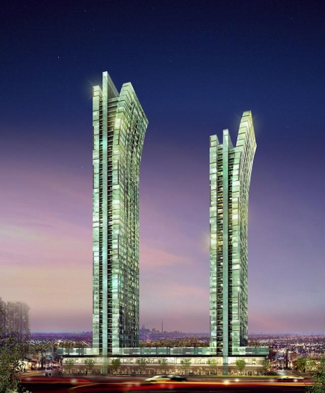Emerald Park Condos Toronto by Bazis International, Metropia and Plaza