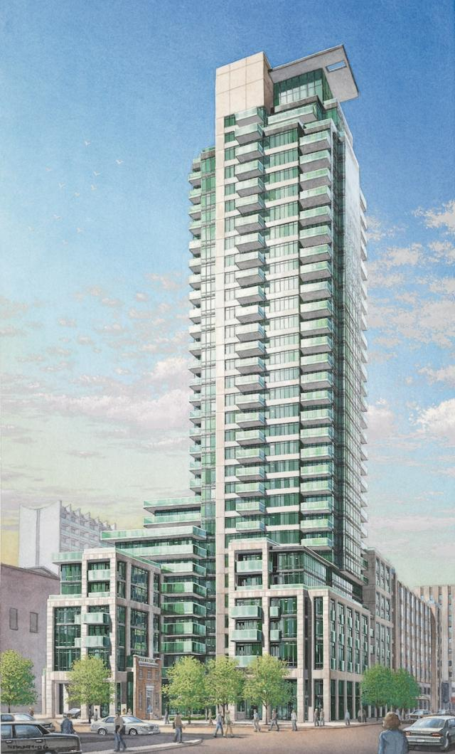 One Bedford condos Toronto by Lanterra Developments and KPMB Architects
