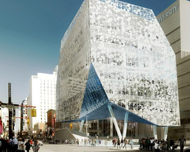 Ryerson Student Learning Centre, image courtesy of Labtop USA Corp / Zeidler Snøhetta