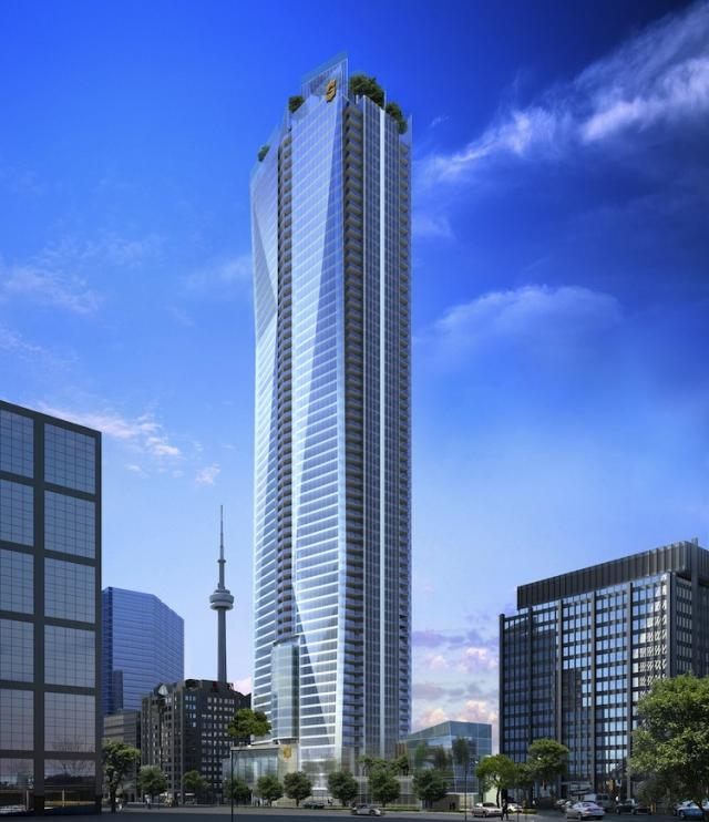 Living Shangri-La Toronto hotel and condos by Westbank