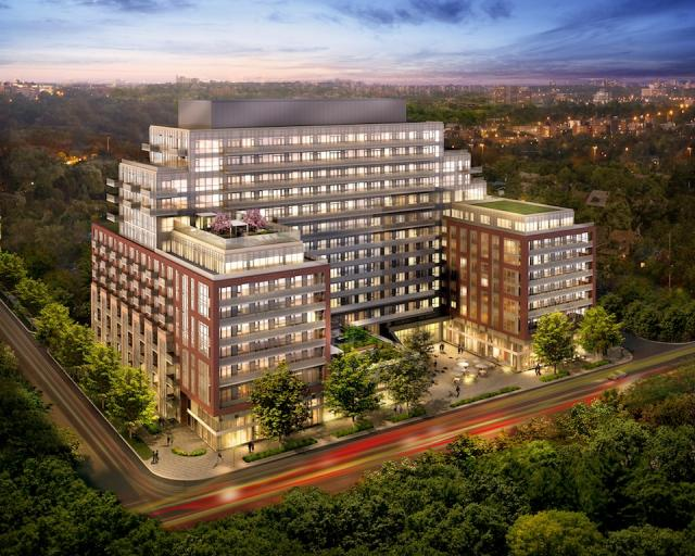 HighPark Condos Toronto by The Daniels Corporation and Diamond Schmitt Architect
