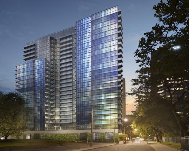 No. 210 Residences on Simcoe condos, image courtesy of the Sorbara Group and Diamondcorp