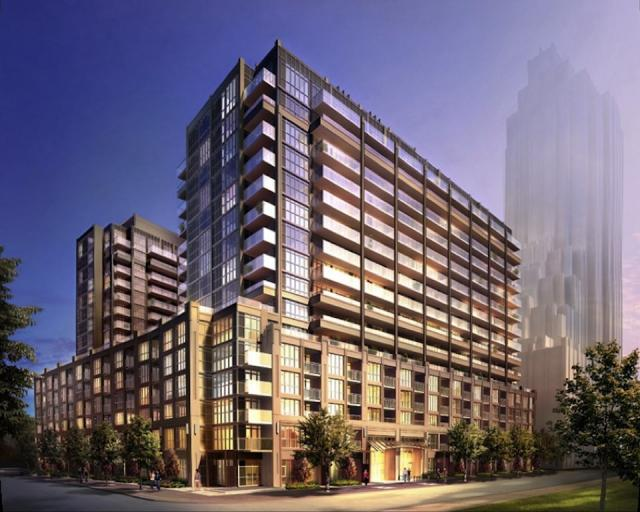 York Harbour Club condos at West Harbour City, northwest corner, image courtesy of Plazacorp