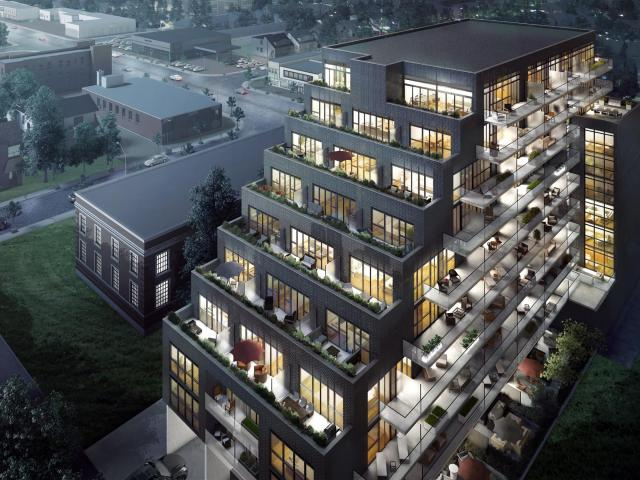 On The Danforth by onespace for DIAM Developments