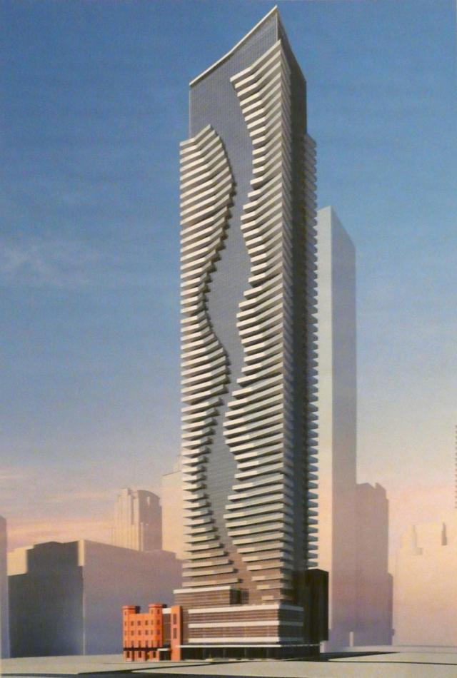 460 Yonge condos concept rendering by Graziani + Corazza for Canderel Stoneridge