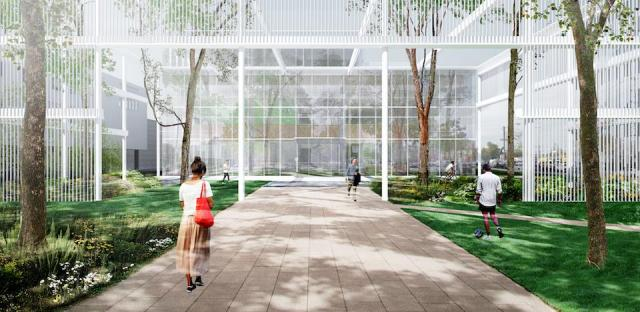 Humber College Lakeshore Campus: Welcome Centre by Moriyama + Teshima Architects