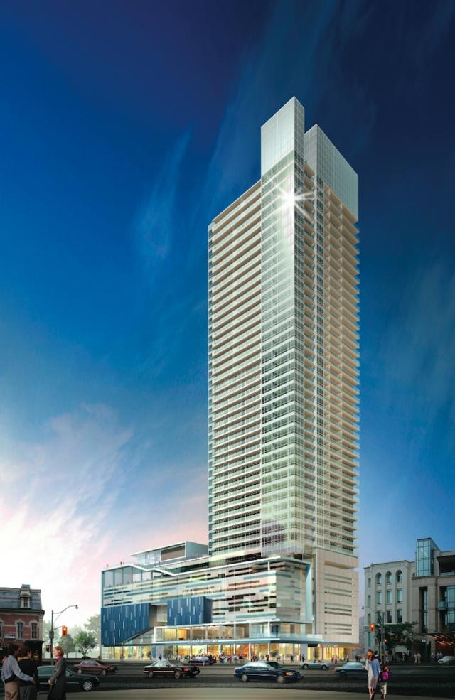 tiff-Bell Lightbox and Festival Tower, image courtesy of The Daniels Corporation