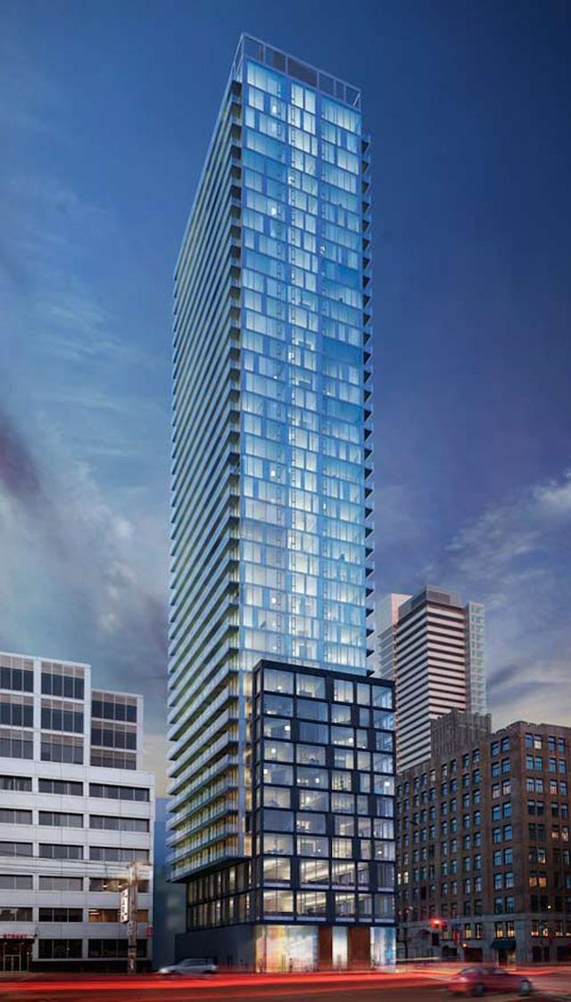 Peter Street Condominiums by CentreCourt Developments