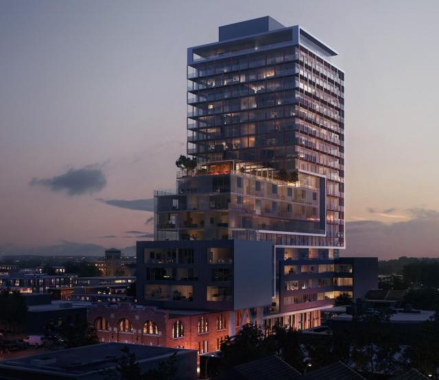 East United Condos by Giannone Petricone Associates for SigNature Communities