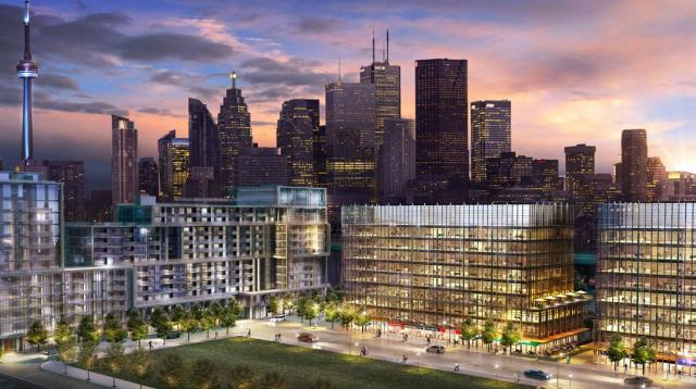 Rendering of Queens Quay Place at Bayside, image courtesy of Hines