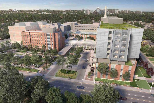 Michael Garron Hospital, EllisDon, B+H Architects, Diamond Schmitt, Toronto