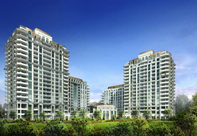 Aria Condominiums, image courtesy of Fernbrook Homes, Menkes, and Cityzen