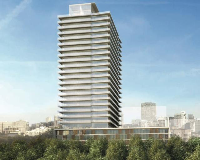 MYC - Merton Yonge Condominiums - by Cresford, design by architectsAlliance, image by Designstor