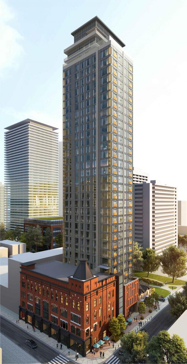 8 Gloucester, Toronto, designed by Graziani + Corazza Architects for Angel and Tricon