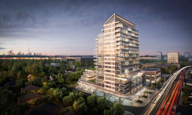 Sail Condominiums, by Keith Loffler McAlpine Architects for Opearl Developments
