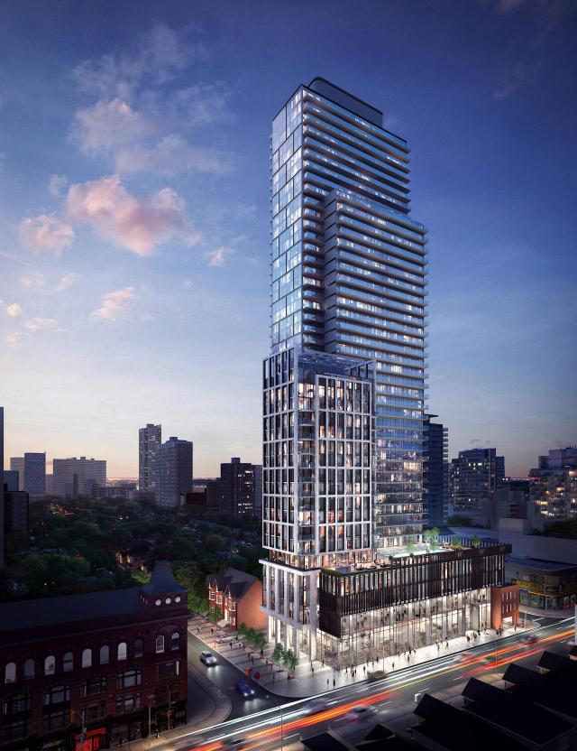 The Clover on Yonge, designed by architectsAlliance for Cresford Developments