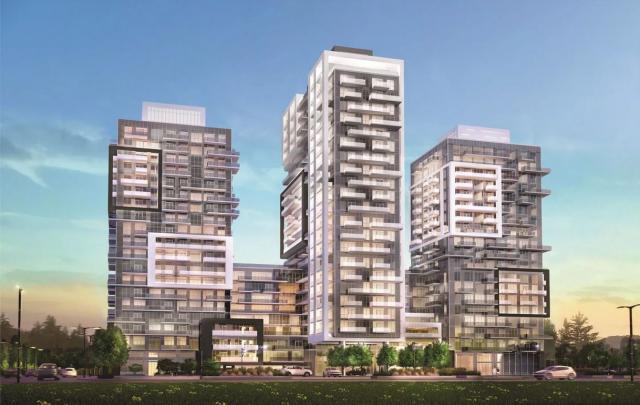 Paradigm Condos, by Graziani + Corazza Architects for Molinaro Group