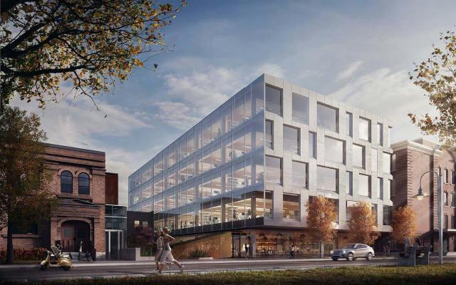 80 Atlantic Avenue by Quadrangle Architects for Hullmark