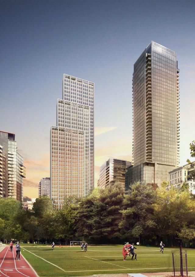 Bay + Scollard, revised design by Foster + Partners and RAW Design for BRL Realty