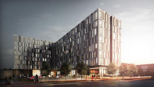 University Studios, Wallman Architects, Podium Developments, Oshawa