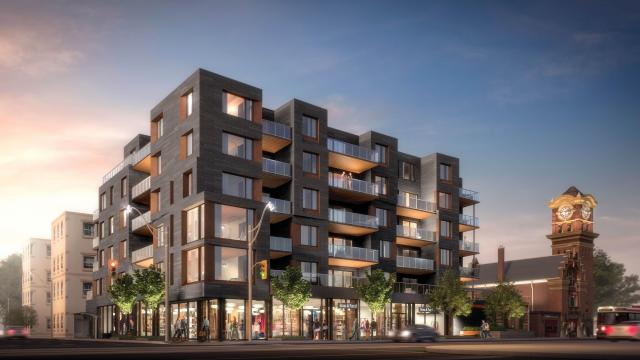 Heartwood The Beach, condos by Fieldgate Homes and Hullmark at Woodbine and Queen in Toronto