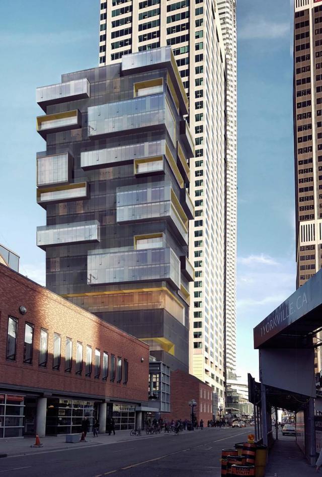 771 Yonge Street, Menkes, Giannone Petricone Associates, Toronto