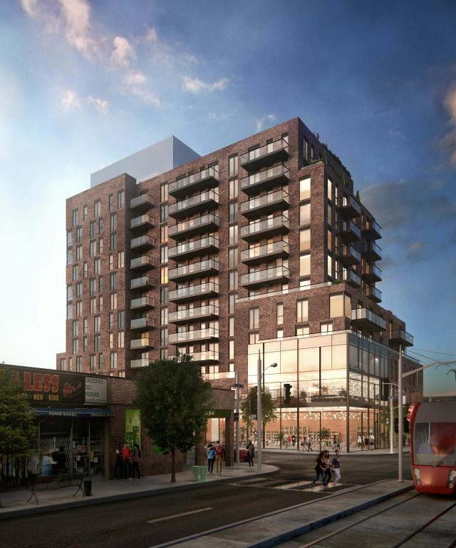 898-900 Saint Clair Avenue West, by Quadrangle Architects for Main and Main Developments