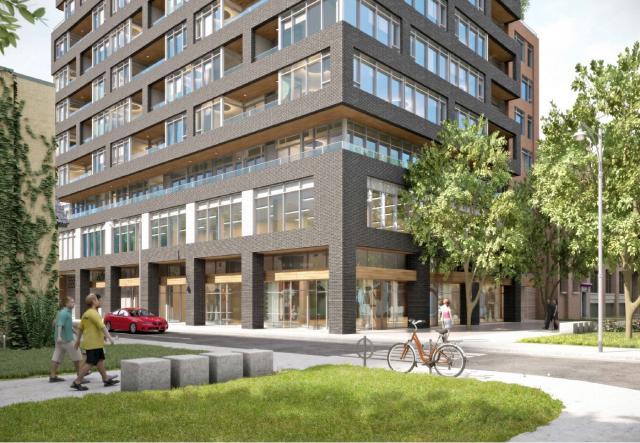 Revised design, 485 Wellington Street West, Wallman Architects, Lifetime Developments