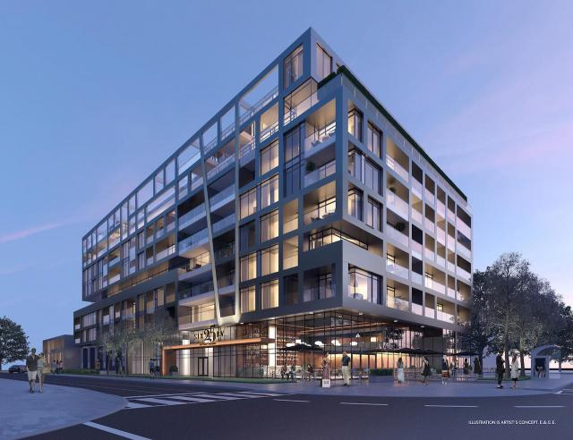 SIX25BV condominiums, designed by Teeple Architects for Haven Developments