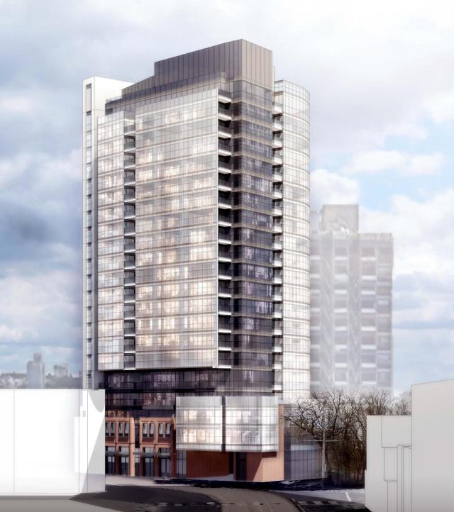 in.DE Condos at 219 Dundas Street East, Toronto, Menkes, Turner Fleischer Architects