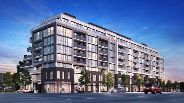 Canvas Condominium, designed by Graziani + Corazza for Marlin Spring