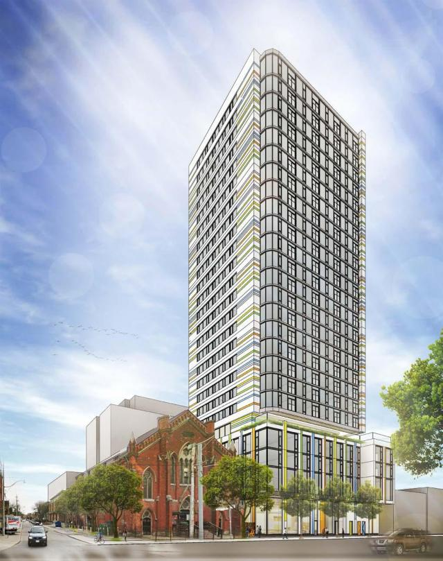 301 Queen Street East, Quadrangle Architects, Toronto
