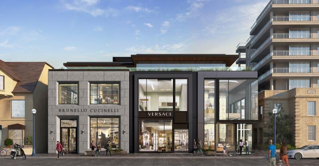 Yorkville Village: 102-108 Yorkville Avenue, First Capital, Kearns Mancini, Toronto