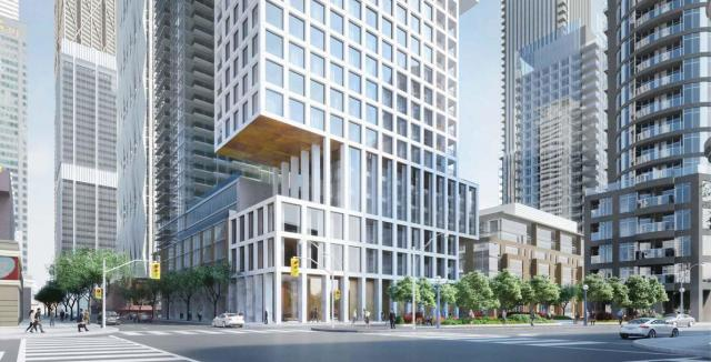1 Scollard Condos, revised concept by KPMB Architects for Cityzen Development Group
