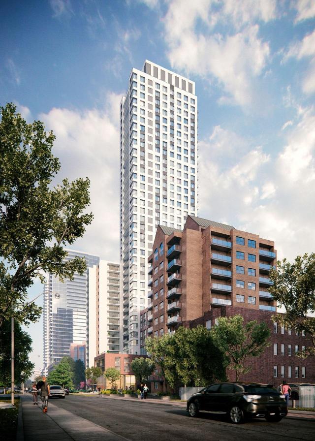 89 Roehampton Avenue, designed by Quadrangle for TAS
