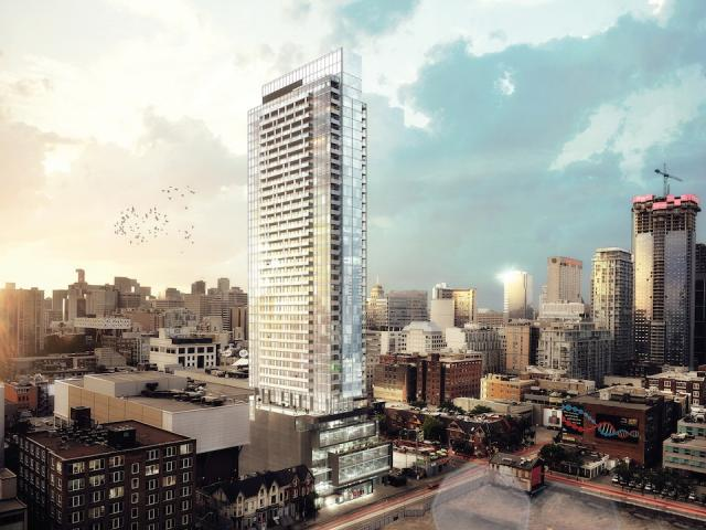 The Bond Condominiums in Toronto by Lifetime Developments and Core Architects